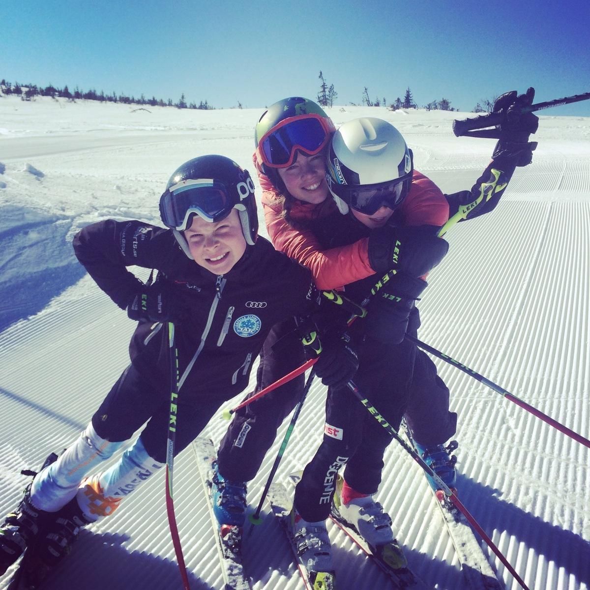Om Slalommamman